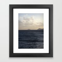 Far and Away Framed Art Print