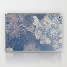 Airforce Blue Floral Hues  Laptop & iPad Skin