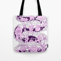 Headin' To The Monster P… Tote Bag