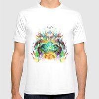 Emerge Mens Fitted Tee White SMALL