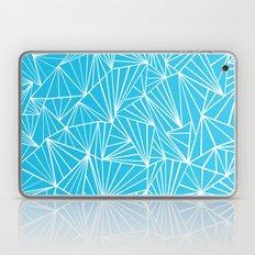 Ab Fan Electric Blue Laptop & iPad Skin