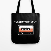 TAKE THIS TAPE (Zelda & Guardians of the galaxy Parody) Tote Bag
