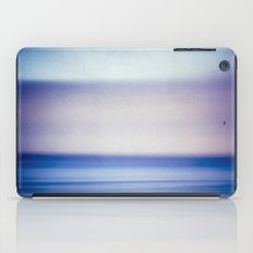 stripes of blue and purple iPad Case
