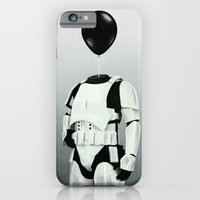 The Stormtrooper - #2 in the Balloon Head Series iPhone 6 Slim Case