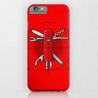 Vitruvian Swiss Knife iPhone 6 Slim Case