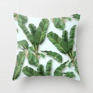 Throw Pillow featuring Martinica by Marta Li