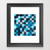 Pixelation Framed Art Print
