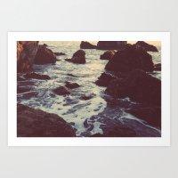 The Sun & The Sea III Art Print