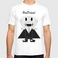 VonDrácul Mens Fitted Tee White SMALL