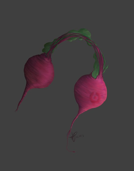 Beets by Me Art Print