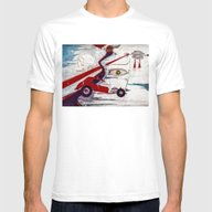 My Minds Eye When I Was … Mens Fitted Tee White SMALL