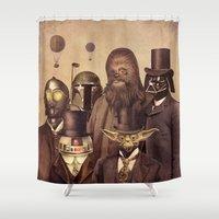 Victorian Wars  Shower Curtain