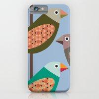 Fun Finches iPhone 6 Slim Case