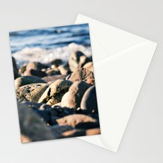 Rocky Ocean Beach Stationery Cards
