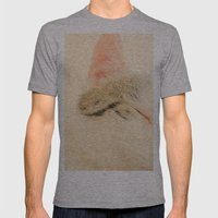 Peachy Kitty Mens Fitted Tee Athletic Grey SMALL