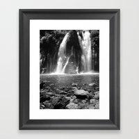 Places In Black & White:… Framed Art Print