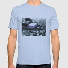 A fresh bath to relax Mens Fitted Tee Athletic Blue SMALL