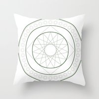 Anime Magic Circle 4 Throw Pillow