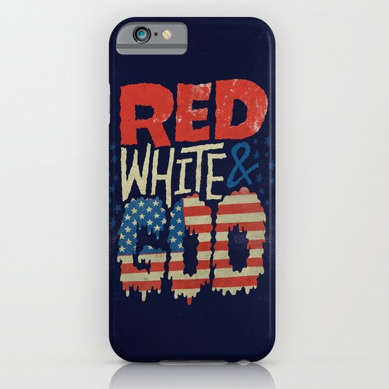 Red, White, & Goo iPhone & iPod Case