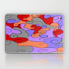 4-Colored Clouds Laptop & iPad Skin