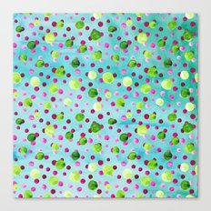 Polka Dot Pattern 09 Canvas Print