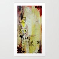 Deathy By Fresh Toast Art Print