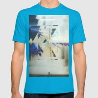 Fractions 01 Mens Fitted Tee Teal SMALL