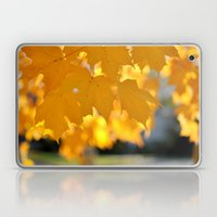Autumn Gold Laptop & iPad Skin