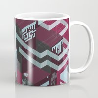 Dark Chocolate, Cherries and Neon Mug