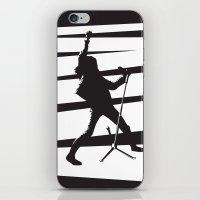 Legendary Punk Frontman iPhone & iPod Skin