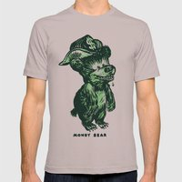 The Money Bear Mens Fitted Tee Cinder SMALL