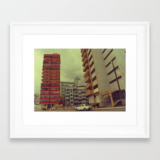 car 2 Framed Art Print