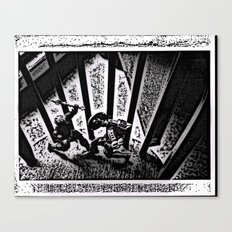The Battle Canvas Print