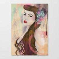Good girls Canvas Print