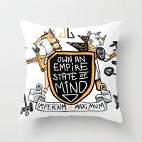 Imperial Mindset Throw Pillow