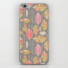 Leaf Study No. 1 iPhone & iPod Skin