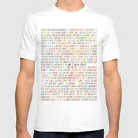 ## Mens Fitted Tee White SMALL