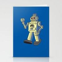 Robot 2.0 Stationery Cards