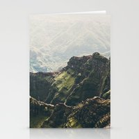 Hawaii Green Stationery Cards