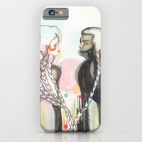 iPhone & iPod Case featuring The Lovers by Raül Vázquez