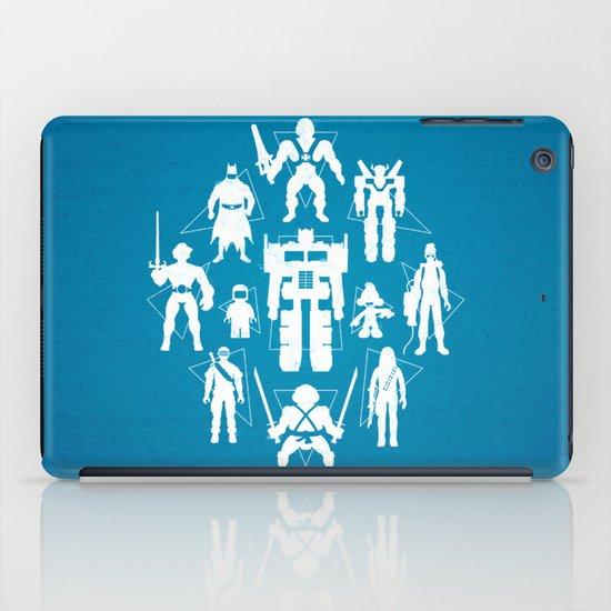 Plastic Heroes iPad Case