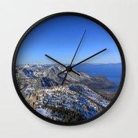 Maggies Peak Wall Clock
