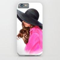 Lady In Purple iPhone 6 Slim Case
