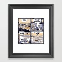 Laugh Menu 79 Framed Art Print
