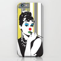iPhone & iPod Case featuring audrey hepburn by Gabriele Omar Lakhal