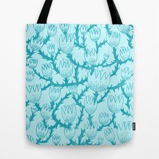 Mint Thorn Tote Bag
