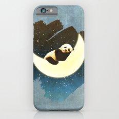 Sleeping Panda on the Moon Slim Case iPhone 6s
