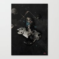 PARADOX Canvas Print