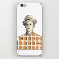 Robert iPhone & iPod Skin