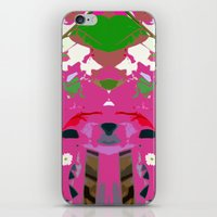 Green Anole iPhone & iPod Skin